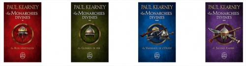 fantasy,roman,écriture,kearney,paul,monarchies,divines